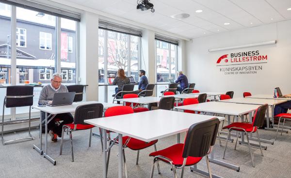 Business Lillestrøm er et VEKSTHUS for oppstartsbedrifter og gründere i Lillestrøm-regionen - Foto: Desimal